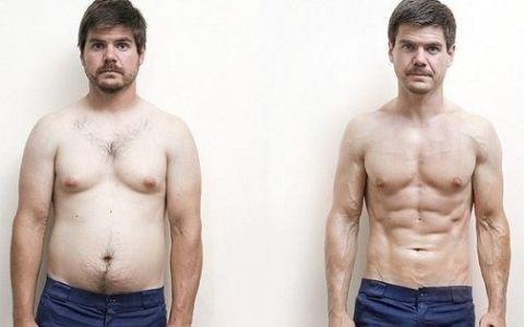 A vrut sa scape de kilogramele in plus si a apelat la cea mai bizara metoda de slabire. Uite cum arata acum acest barbat