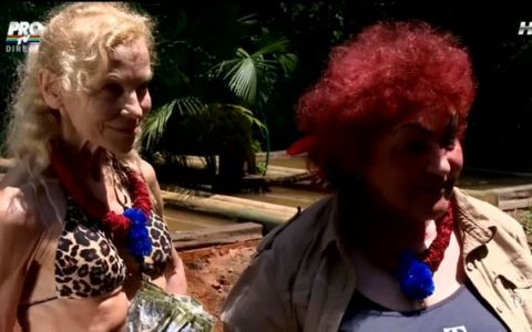 Elena Merisoreanu si Luminita Nicolescu, la prima proba in jungla! Cum s-au descurcat