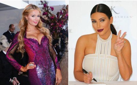 Kim Kardashian si Paris Hilton, in urma cu 10 ani. Cum aratau cele doua vedete in adolescenta