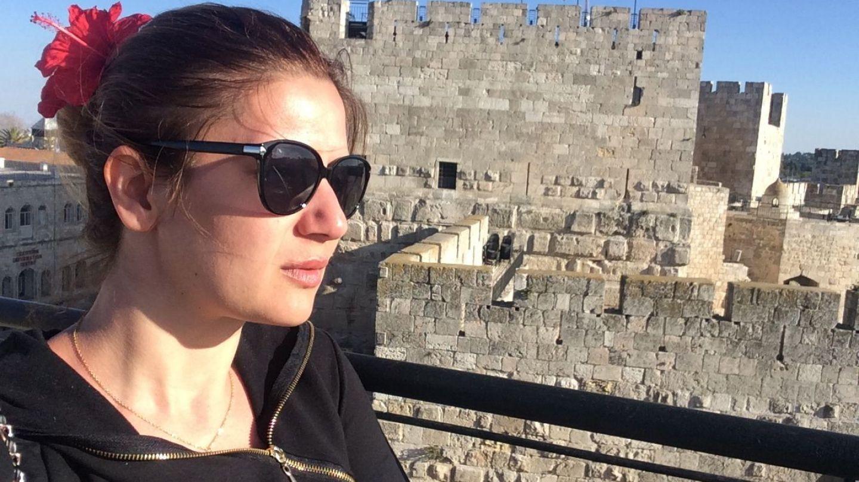 Amalia Enache si-a inceput primavara in Israel