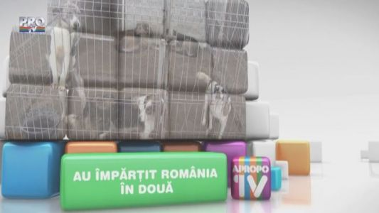 Apropo TV: Au impartit Romania in doua