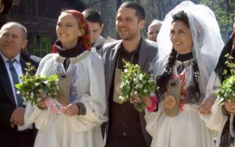 Augustin Viziru s-a casatorit la Ferma Vedetelor. Vezi cum au petrecut concurentii alaturi de Nelu Ploiesteanu