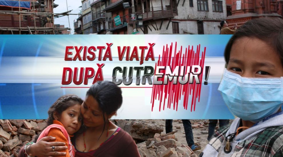 Stirile PRO TV au lansat o noua campanie - Exista viata dupa cutremur, in parteneriat cu UNICEF