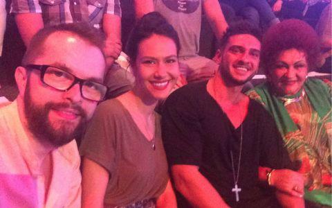 Andreea Moldovan, Dorian Popa si Elena Merisoreanu le-au facut galerie concurentilor in semifinala Romanii au talent!