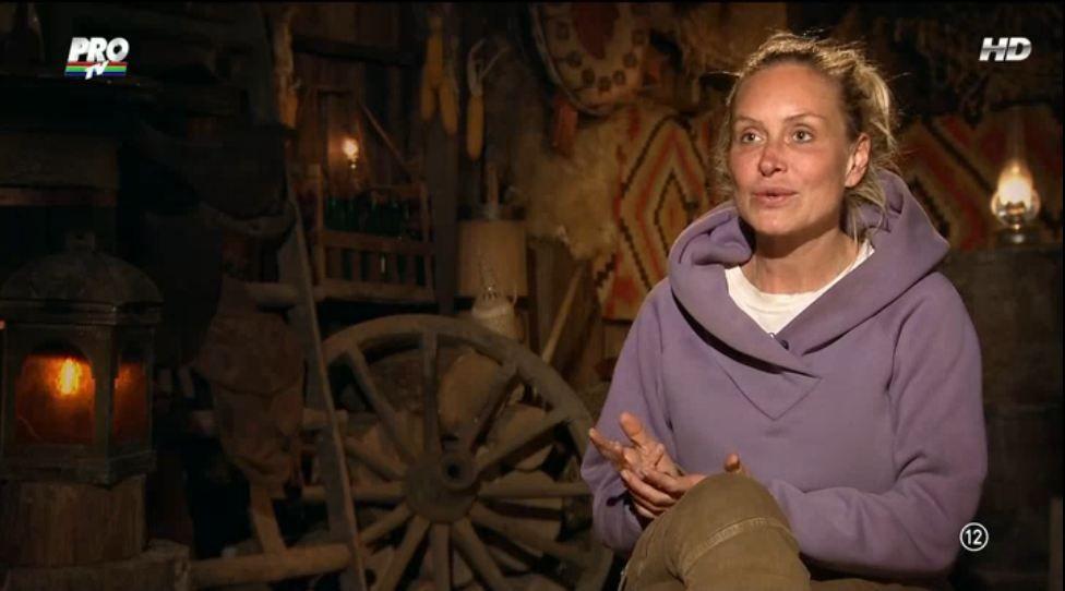 Vica Blochina a avut parte de o surpriza inaintea duelului cu Cristina Cioran. De cine a fost vizitata