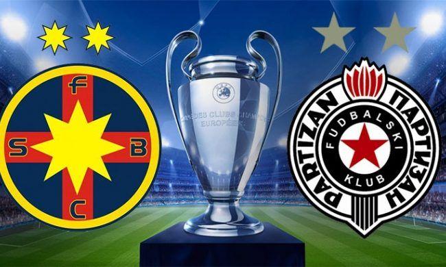 Partizan - Steaua e LIVE la PROTV, MIERCURI, de la 21:30!