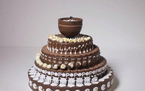Pare a fi un simplu tort de ciocolata, insa aparentele sunt inselatoare. Ce se intampla atunci cand incepe sa se invarta