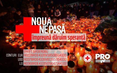 ProTV si Crucea Rosie Romana au lansat campania umanitara:  Noua ne pasa. Impreuna daruim speranta