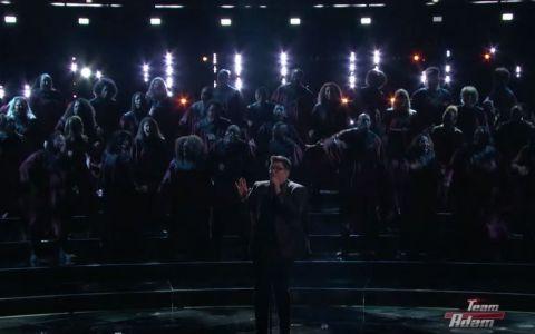 A surprins cu o interpretare a piesei  Chandelier , iar acum revine cu unul dintre cele mai bune momente de la The Voice