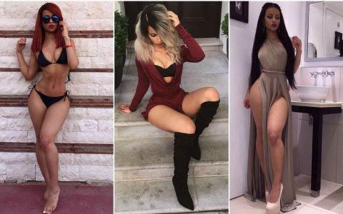 Corpul ei pare modificat. Modelul cu talie ireal de mica si posterior incredibil de bombat care face furori pe Instagram