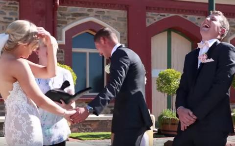 Mireasa si fiul mirelui au intrerupt nunta. Cum au reactionat invitatii cand micutul a avut o cerere mai putin obisnuita