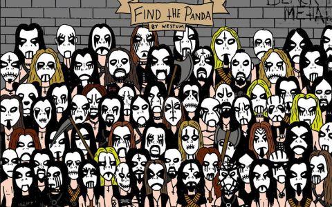 Imaginea care a captivat internetul intr-o singura zi! Vezi unde este ursul panda in aceasta imagine