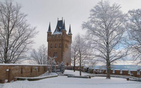 Romania, in topul celor mai frumoase castele pe timp de iarna din lume