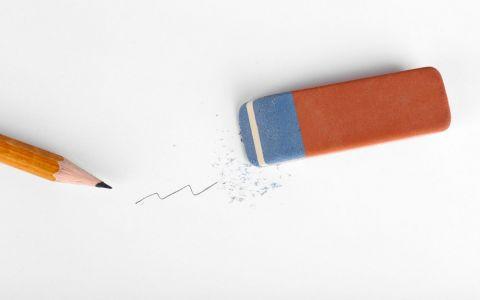Ai avut in copilarie acest tip de radiera? La ce foloseste de fapt capatul albastru al gumei de sters