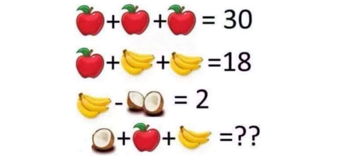 Problema de matematica pe care foarte putini o rezolva din prima! Care este rezultatul corect