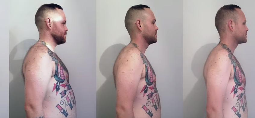 A slăbit 45 de kilograme și și-a schimbat viața