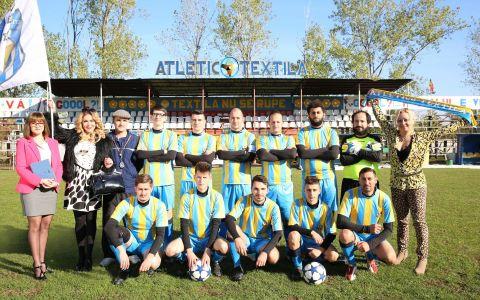 Pe 10 martie, Atletico Textila aduce comedia si fotbalul in casele tuturor romanilor!