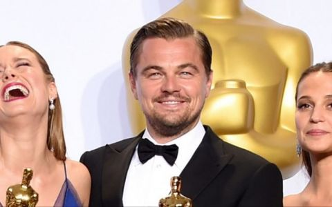 PREMIILE OSCAR 2016. Leonardo DiCaprio, cel mai bun actor. Spotlight a luat marele trofeu. Lista castigatorilor.