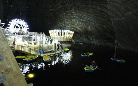 Este un monument istoric incontestabil  Imaginile fantastice care au adus Salina Turda pe CNN
