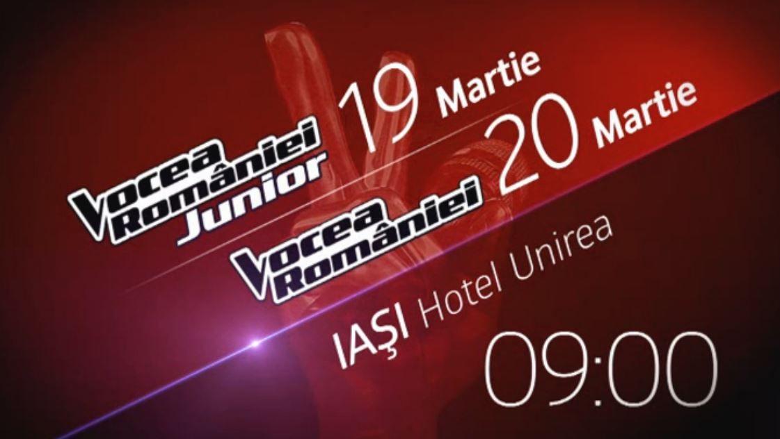 Caravana Vocea Romaniei si Vocea Romaniei Junior ajunge in Moldova! Vino la Hotelul UNIREA din IASI