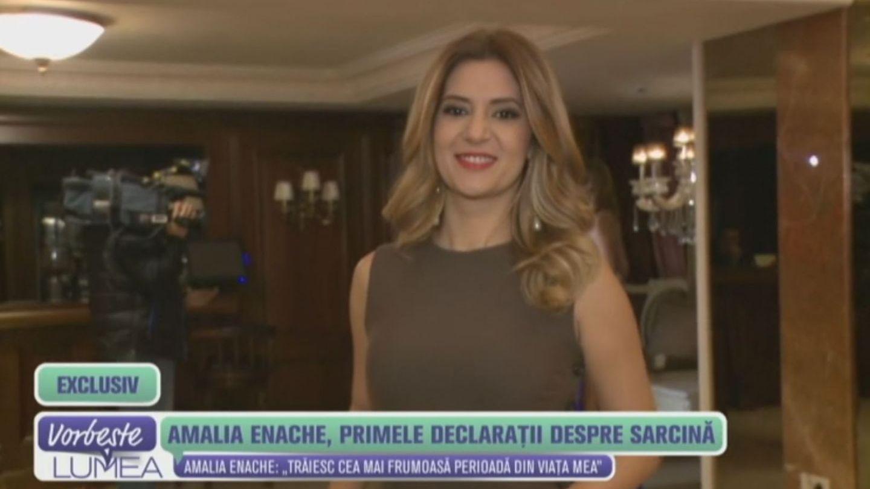 Amalia Enache, primele declaratii despre minunea din viata ei. Cum se simte si cat de bine arata viitoarea mamica