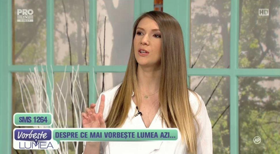 Adela Popescu, aparitie superba la Vorbeste lumea