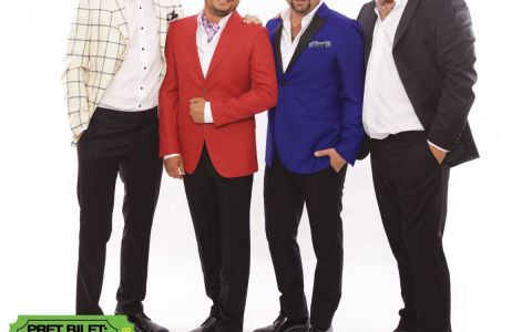 Mihai Bobonete, Adrian Vancica, Costi Dita si Mihai Rait cuceresc salile de teatru din Europa cu stand-up-ul!