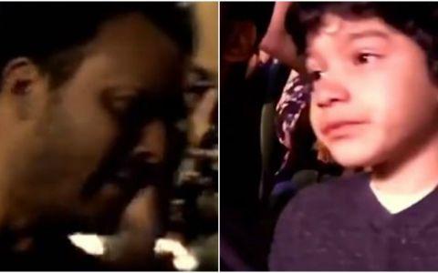 Momentul in care un baietel care sufera de autism e dus de tatal sau la un concert Coldplay! Ce s-a intamplat dupa ce clipul a ajuns pe net