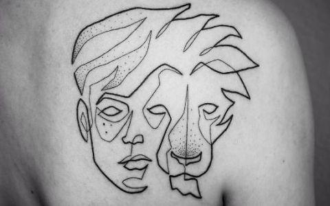 Iti dai seama care este secretul tatuajului in imagine? Vezi in ce mod inedit reuseste artistul sa realizeze astfel de desene corporale