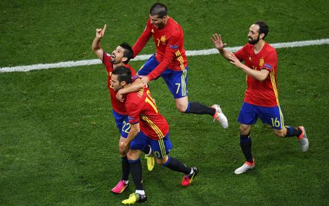 Spania - Turcia 3 - 0. Ibericii se califica in optimi dupa o partida spectaculoasa VIDEO