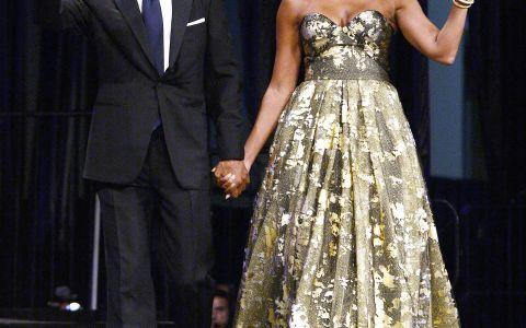 Aparitia extrem de eleganta cu care Michelle Obama a impresionat la un eveniment. Cat de frumoasa e sotia lui Barack Obama