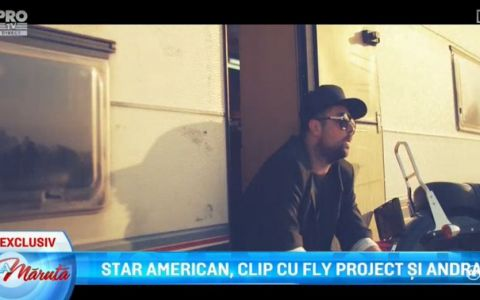 Star american, clip cu Fly Project si Andra. Vezi aici videoclipul melodiei Butterfly