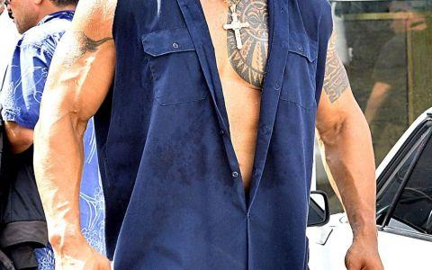 Dwayne Johnson nu a fost intotdeauna atat de musculos. Cum arata inainte sa devina  The Rock