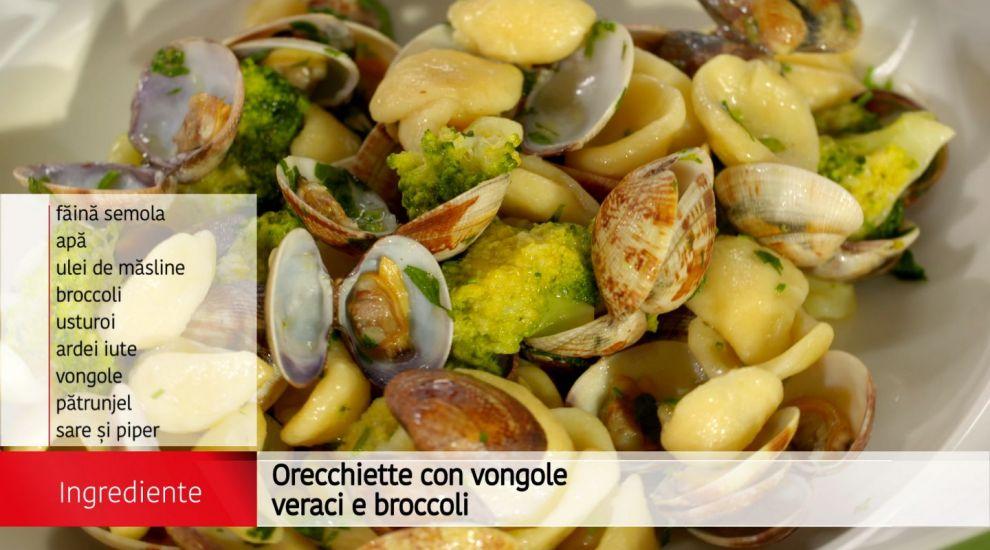 Orecchiette con vongole veraci e broccoli