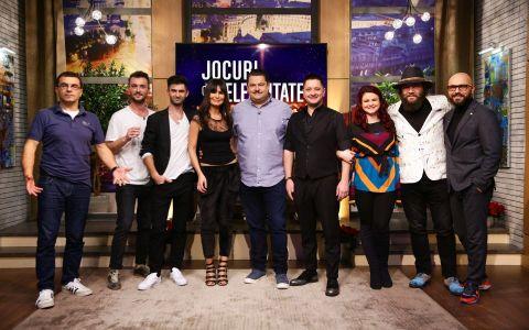 Mihai Margineanu, Cosmin Tudoran, Dana Budeanu si Andreea Samson se distreaza in aceasta seara la Jocuri de celebritate