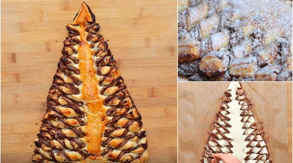 Rețetă de prăjitură pentru Sărbători: Brad de Crăciun cu cremă de ciocolată