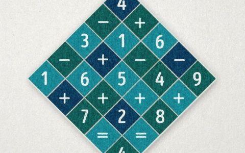 Puzzle-ul care iti va pune la incercare perspicacitatea. Care e solutia ecuatiei din acest patrat
