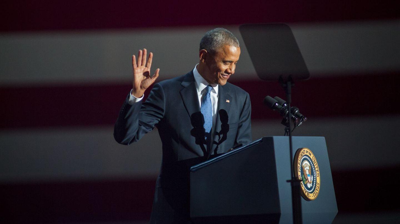 Barack Obama, discurs emotionant de adio in fata a 18 000 de oameni:  A fost o onoare sa fiu in serviciul vostru