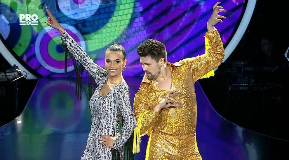 Uite cine a deschis editia doi a celui mai tare show de dans, cu o coregrafie DISCO: Anca Sina Serea si Nicolai Curnic