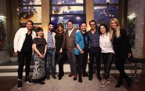 Catalin Botezatu, Tania Budi, Diana Dumitrescu si Dorian Boguta aduc veselia la Jocuri de celebritate
