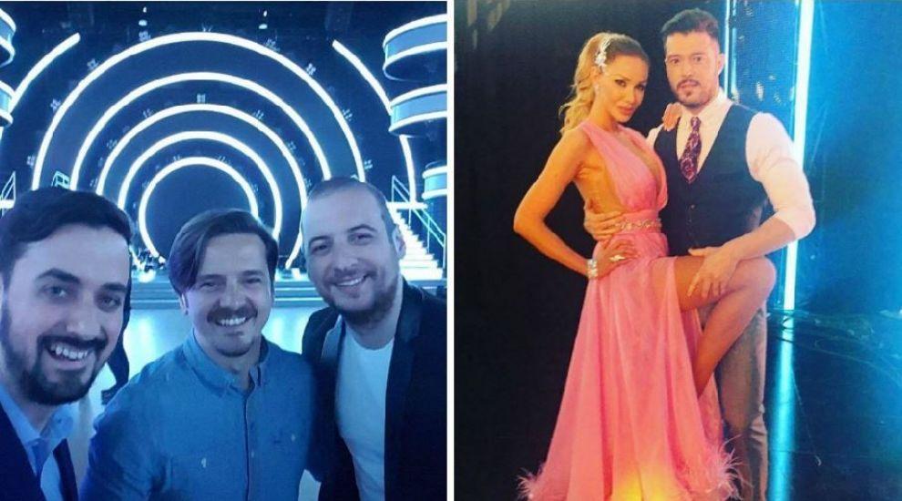#instatakeover cu matinalii Kiss FM Andrei Ciobanu si OLiX. Cum s-a vazut Uite cine danseaza! din unghiul lor