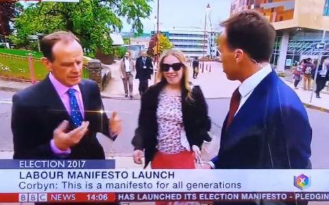 Motivul pentru care un reporter BBC a primit o palma in direct. Ce a facut de a starnit aceasta reactie