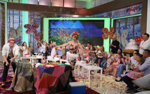 Pe 1 iunie, copiii vedetelor sarbatoresc Ziua Copilului in platoul La Maruta!