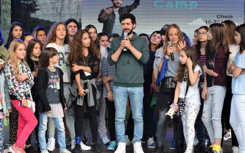 Marius Moga, in tabara cu 100 de copii!