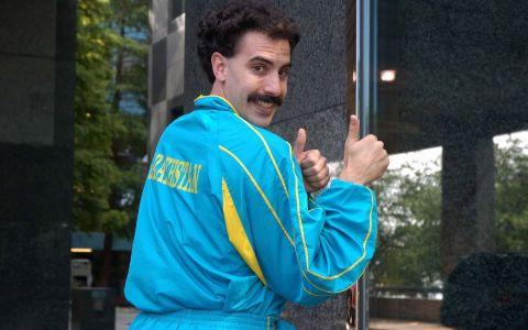 Sotia lui Borat, aparitie impecabila. Cat de frumoasa este femeia care l-a cucerit pe actor