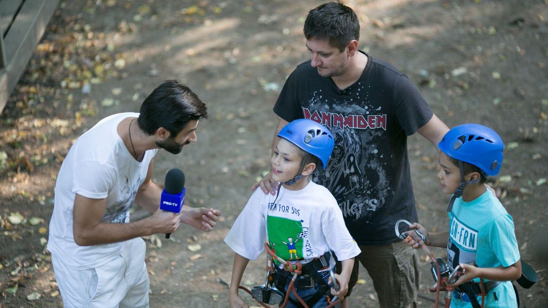 Paul Ipate si Octavian Strunila au spus Prezent in campania SOS Satele Copiilor