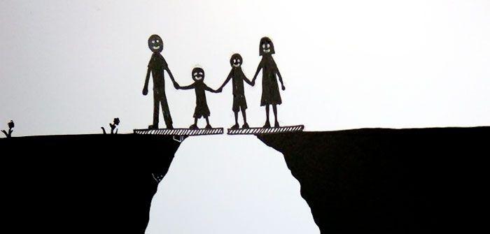 Viata inainte si dupa divort in numai 7 poze. Cum arata si ce inseamna cu adevarat aceasta problema in viata de familie