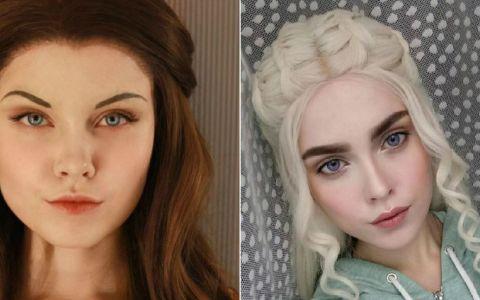 Se poate transforma in orice personaj! Adolescenta care a cucerit internetul cu talentul ei