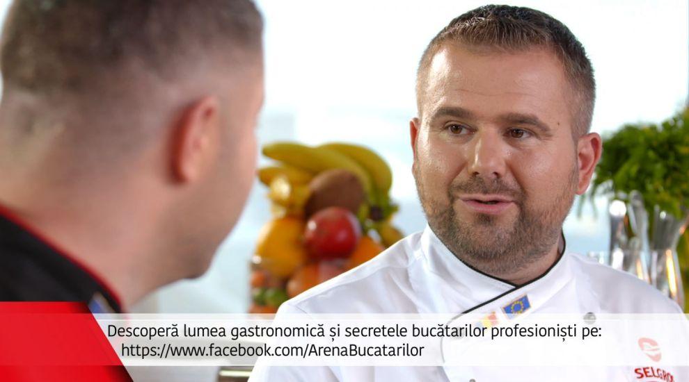 Chef Razvan Alexandru este invitat duminica la Arena Bucatarilor