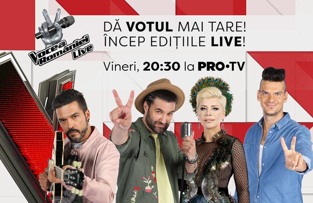 Afla aici cum iti poti sustine favoritii in prima editie LIVE. Vocea Romaniei, ACUM, la PROTV